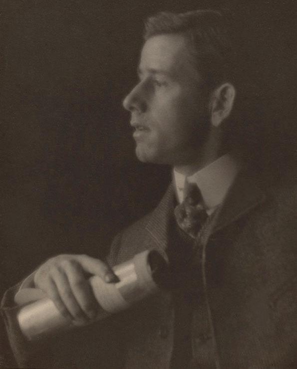 Alvin Langdon Coburn. 'Clarence H. White' c. 1905