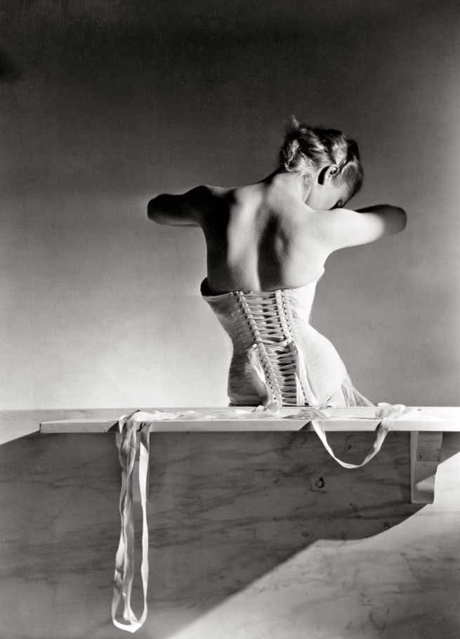 Horst P. Horst. 'Corset by Detolle for Mainbocher' 1939
