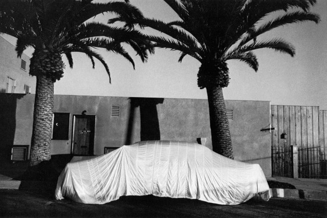 Robert Frank. 'Covered car - Long Beach, California' 1956