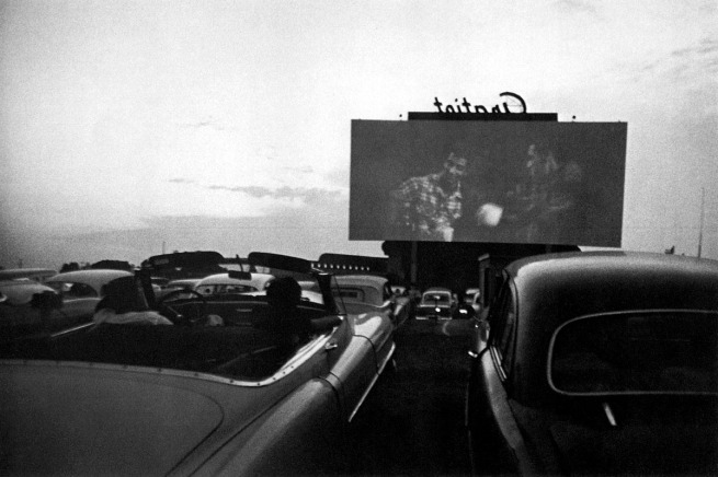 Robert Frank. 'Drive-In Movie - Detroit' 1955