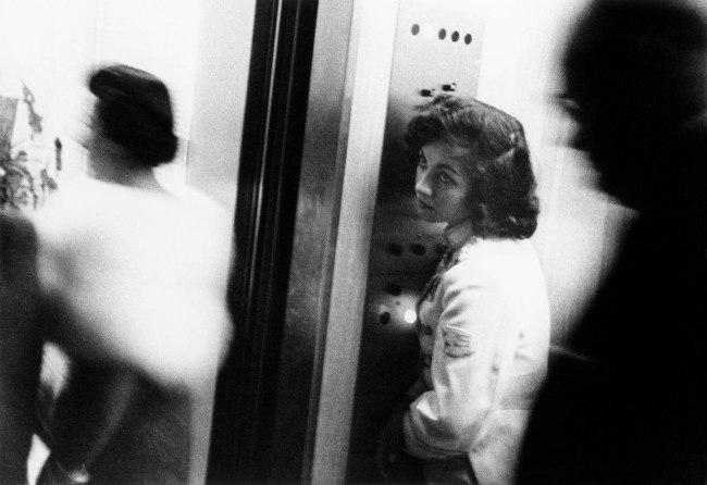 Robert Frank. 'Elevator - Miami Beach' 1955