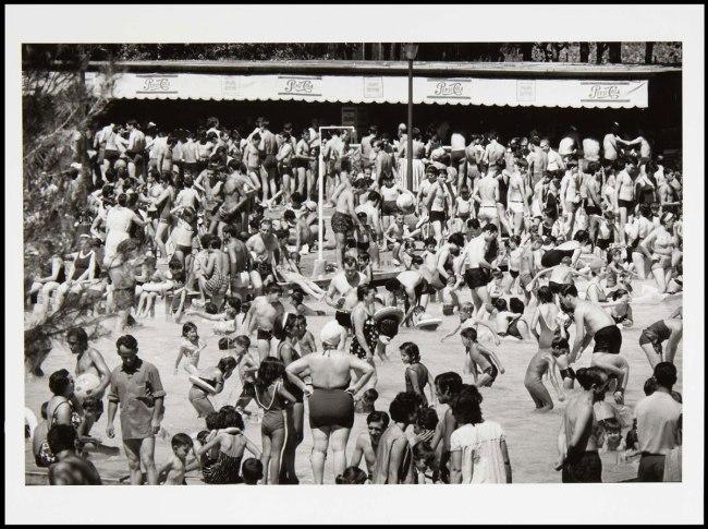 Francisco Ontañón (Barcelona, Spain, 1930 - Madrid, Spain, 2008) 'Parque Sindical (Madrid)' (Parque Sindical Sports Area [Madrid]) 1964 / Posthumous print, 2013