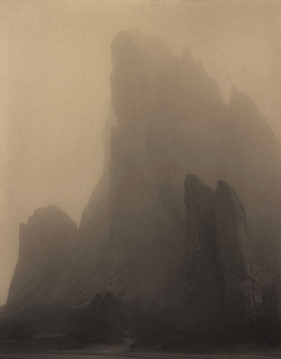 Laura Gilpin. 'Ghost Rock, Colorado Springs' 1919