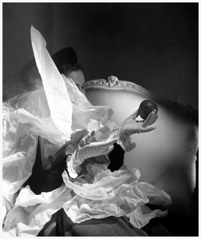 Horst P. Horst. 'Birthday Gloves, New York' 1947