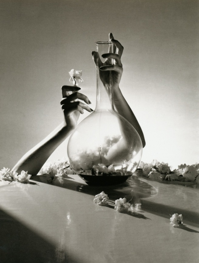Horst P. Horst. 'Lisa Fonssagrives hands, New York' 1941