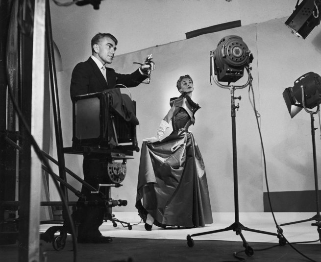 Roy Stevens. 'Horst directing fashion shoot with Lisa Fonssagrives' 15 May 1941