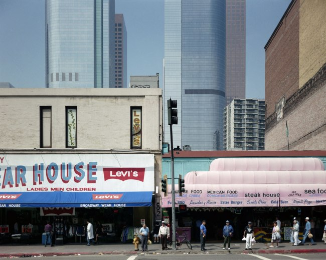 John Humble. '300 Block of Broadway, Los Angeles, October 3, 1980' 1980