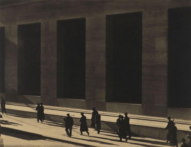 Paul Strand. 'Wall Street, New York' 1915 (negative); 1915 (print)