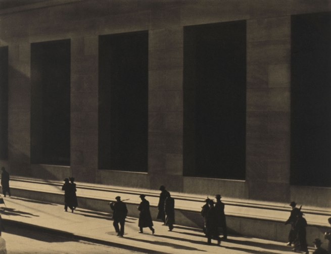 Paul Strand. 'Wall Street, New York' 1915 (negative); 1915 (print)