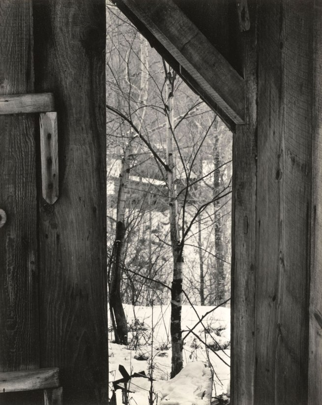 Paul Strand. 'Toward the Sugar House, Vermont' 1944