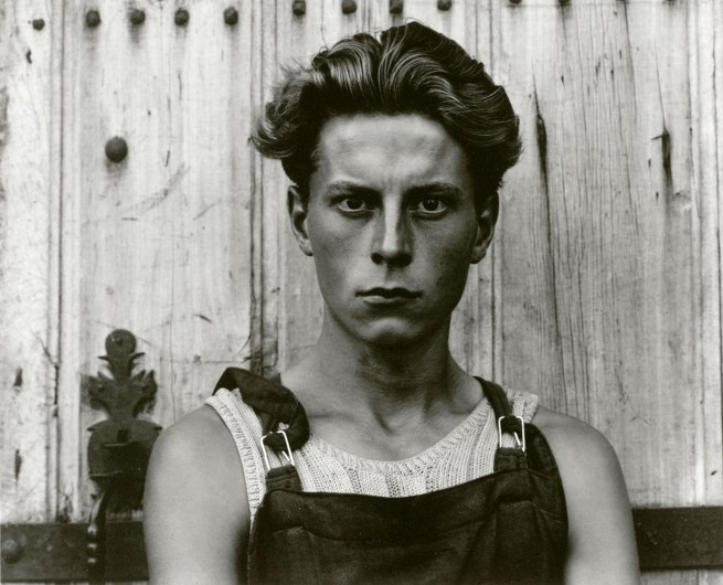 Paul Strand. 'Young Boy, Gondeville, Charente, France' 1951 (negative); mid- to late 1960s (print)