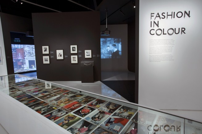 Installation image of 'Horst - Photographer of Style' at the V&A