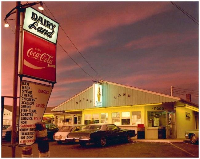 Joel Meyerowitz. 'Dairyland, Provincetown' 1976