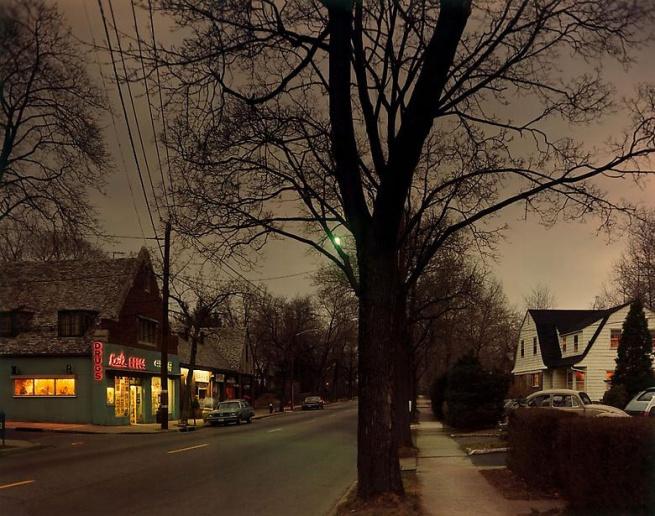 Joel Meyerowitz. 'Dusk, New Jersey' 1978