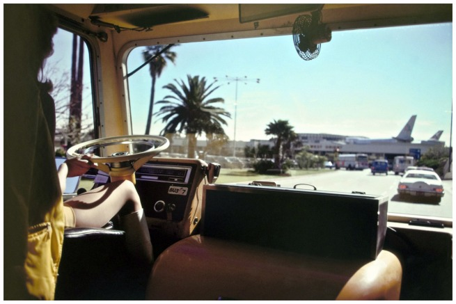 Joel Meyerowitz. 'Los Angeles Airport, California' 1976
