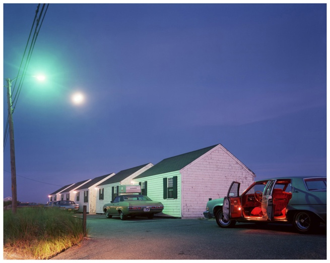 Joel Meyerowitz. 'Red Interior, Provincetown, Massachusetts' 1977