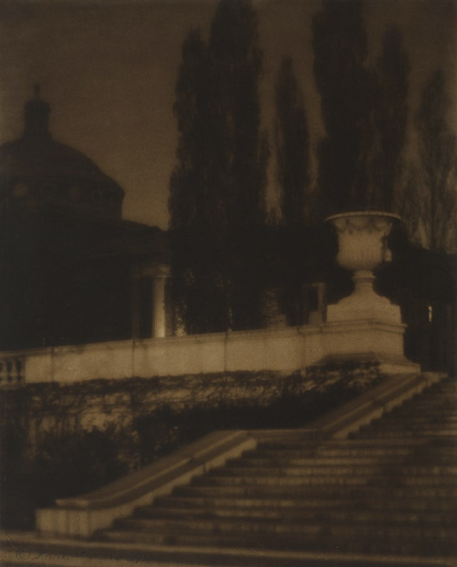 Karl Struss. 'Columbia University, Night' 1910