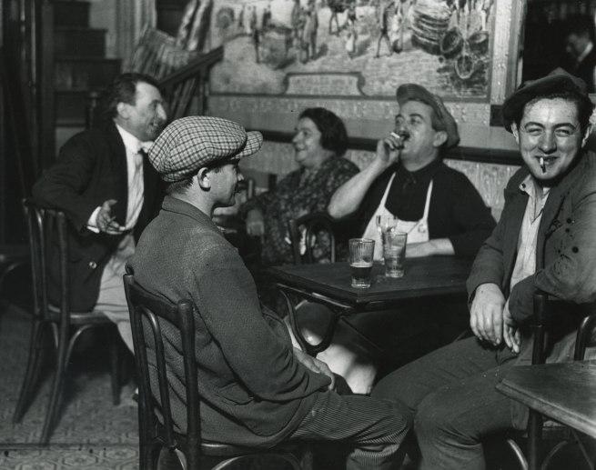 André Kertész. 'A Bistro at Les Halles, Paris' 1927