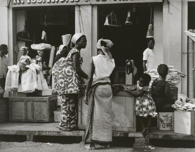 Paul Strand. 'Market, Accra, Ghana' 1963-64