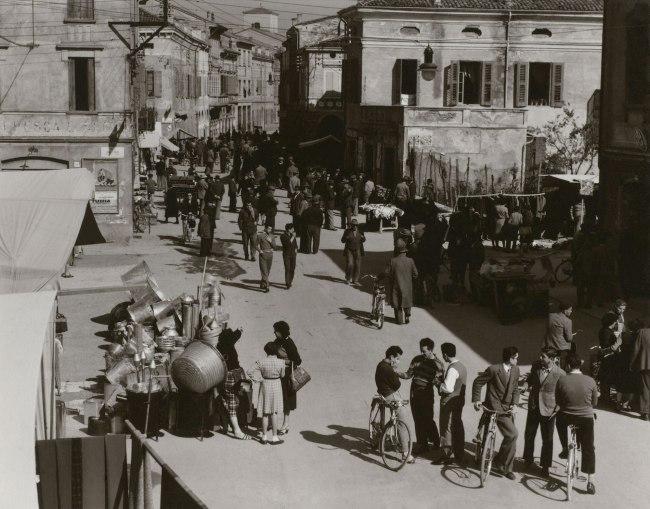 Paul Strand. 'Market Day, Luzzara' 1953
