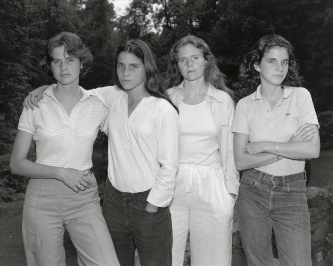 Nicholas Nixon. 'The Brown Sisters, New Canaan, Connecticut' 1975