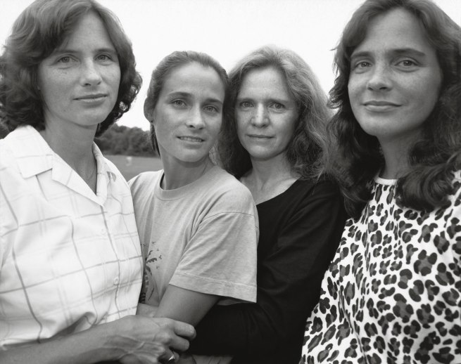 Nicholas Nixon. 'The Brown Sisters, Wellesley, Massachusetts.' 1988