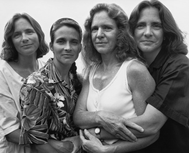 Nicholas Nixon. 'The Brown Sisters, Marblehead, Mass.' 1995