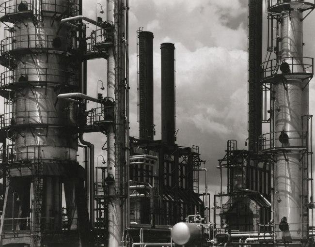 Paul Strand. 'Oil Refinery, Tema, Ghana' 1963-64