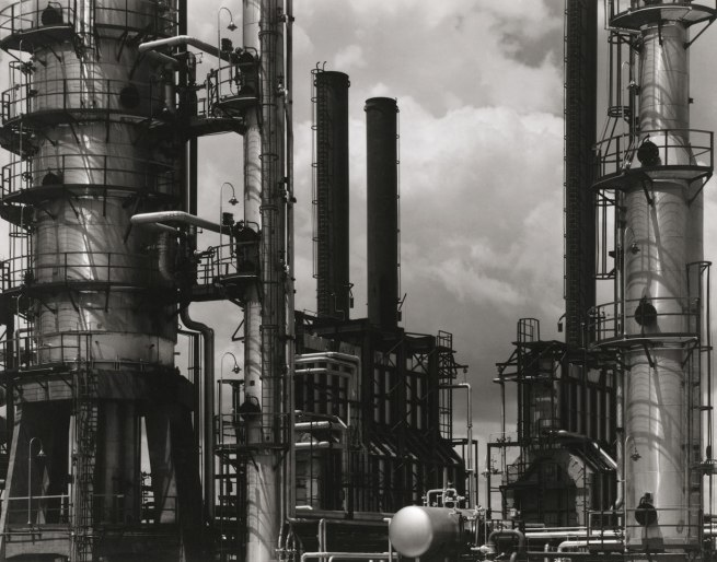 Paul Strand. 'Oil Refinery, Tema, Ghana' 1963-64