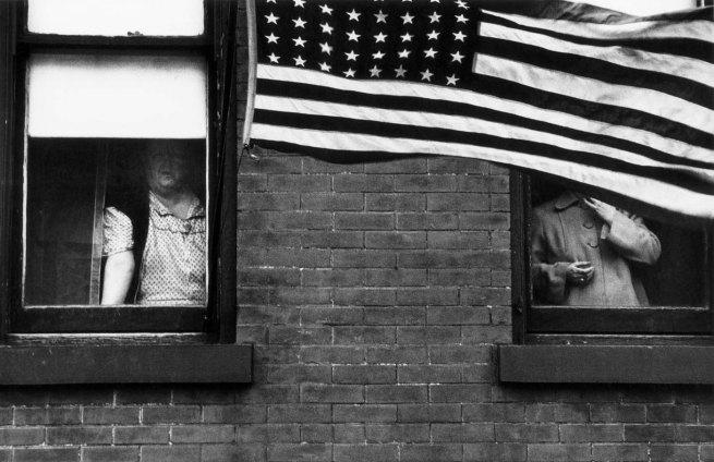 Robert Frank. 'Parade - Hoboken, New Jersey' 1955