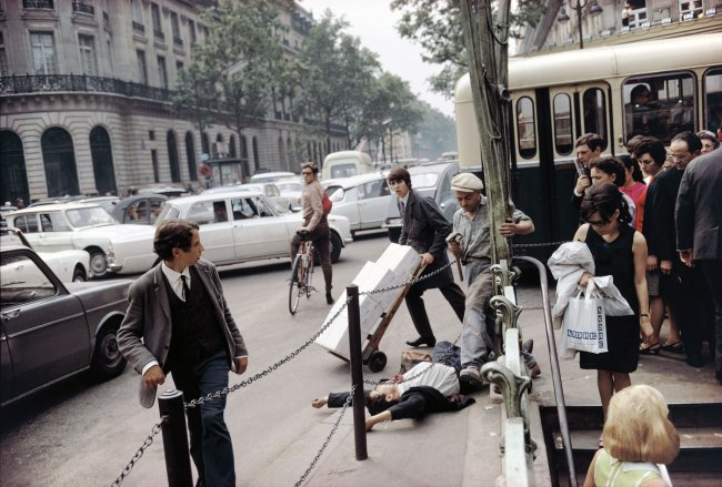 Joel Meyerowitz. 'Paris, France' 1967