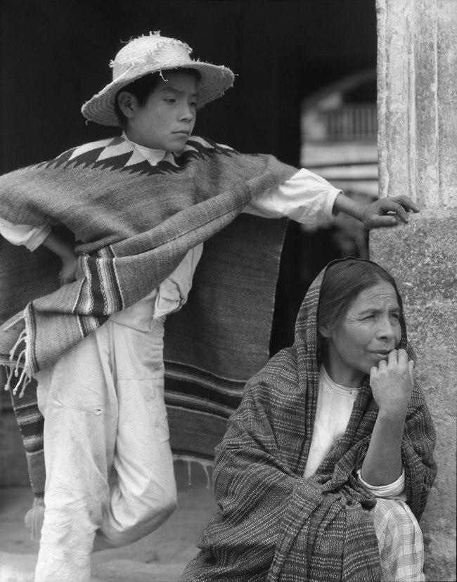 Paul Strand. 'Woman and Boy, Tenancingo, Mexico' 1933