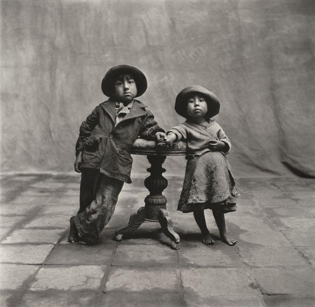 Irving Penn. 'Cuzco Children' 1948