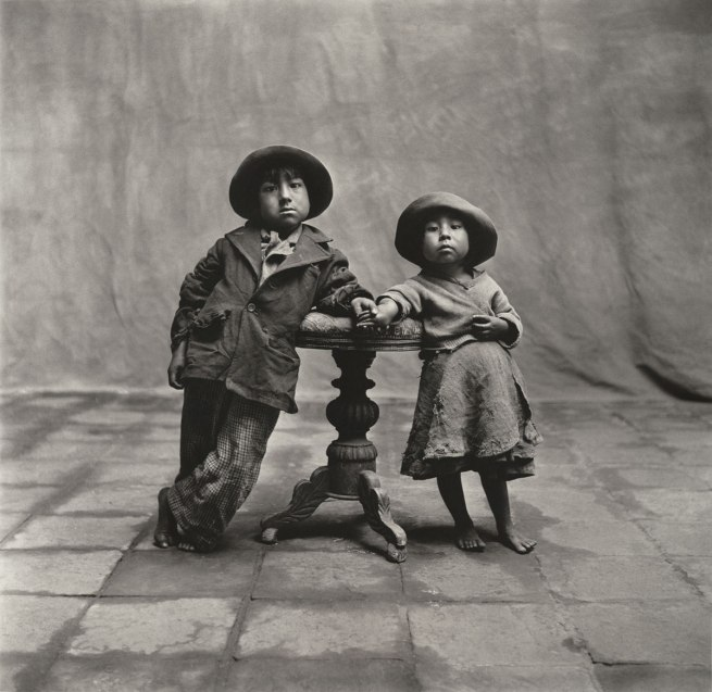 Irving Penn. 'Cuzco Children' 1948