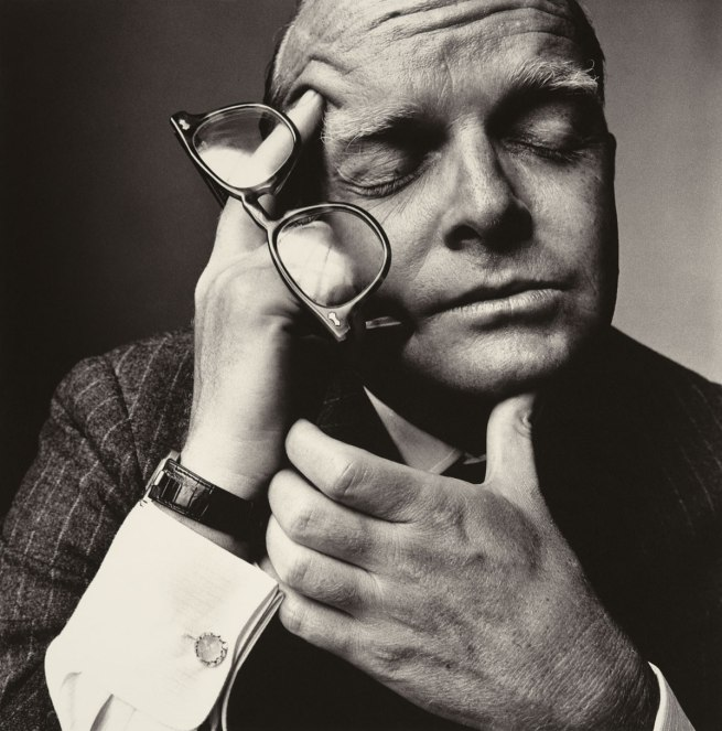 Irving Penn. 'Truman Capote (1 of 2)' New York, 1965