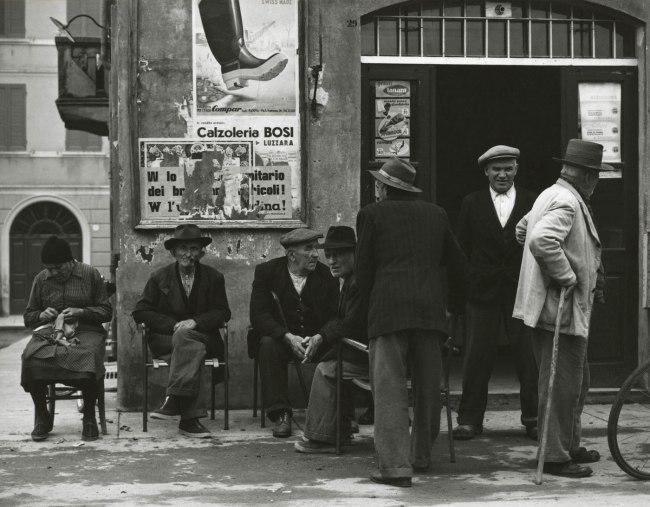 Paul Strand. 'Place to meet, Luzzara' 1953