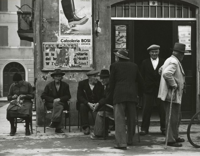 Paul Strand. 'Place to meet, Luzzara' 1953