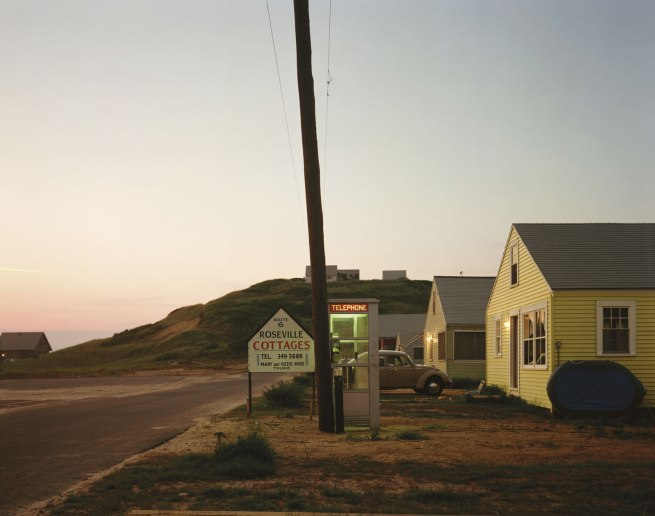 Joel Meyerowitz. 'Roseville Cottages, Truro, Massachusetts' 1976