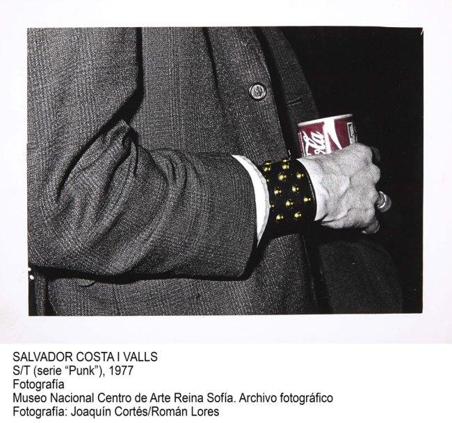 Salvador Costa i Valls. 'Sans Titre' (from the series 'Punk') 1977