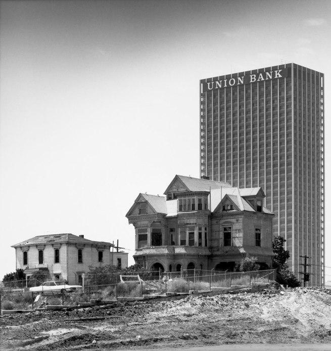 Julius Shulman. 'The Castle, 325 S. Bunker Hill Avenue, Los Angeles, California, (Demolished 1969)' c. 1968