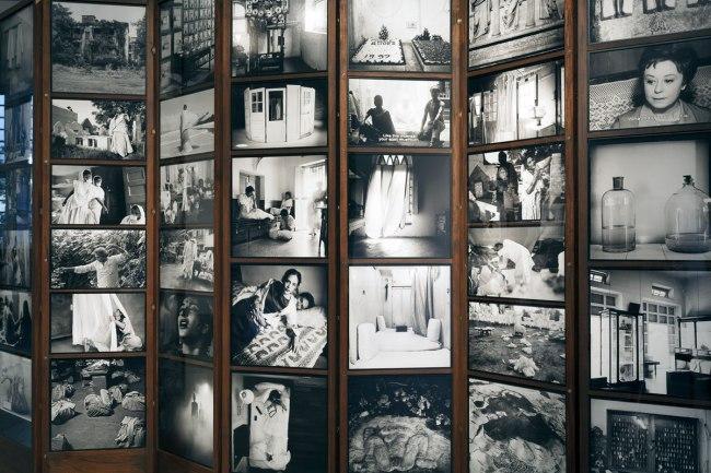 Installation view of Dayanita Singh's 'Go Closer Away' 2014 (detail)
