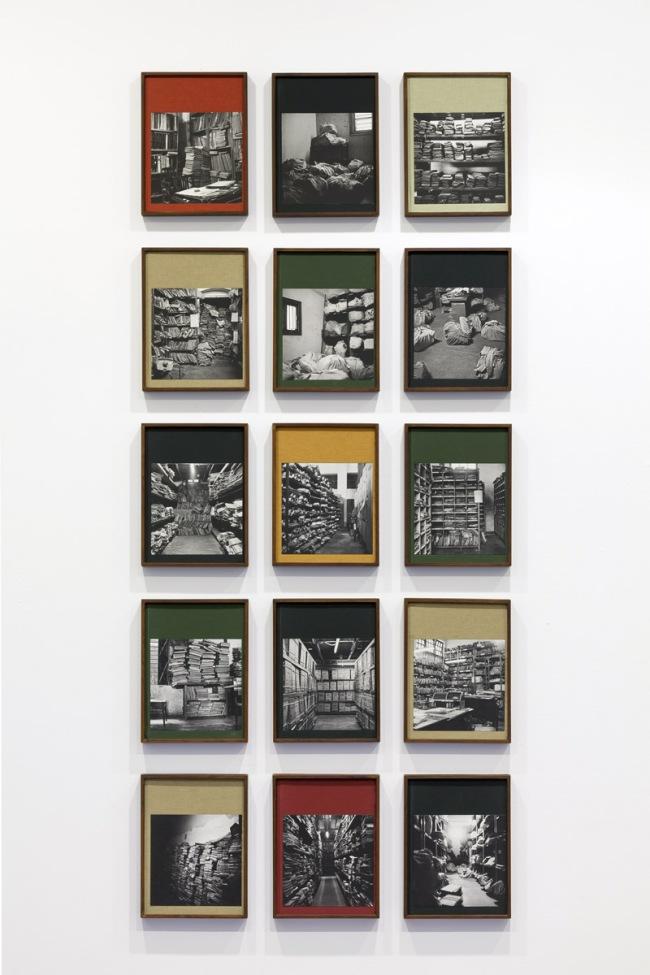 Installation view of Dayanita Singh's 'Go Closer Away' 2014