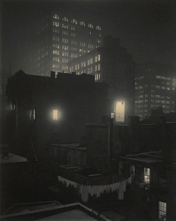 Alfred Stieglitz. 'From the Back-Window - 291' 1915