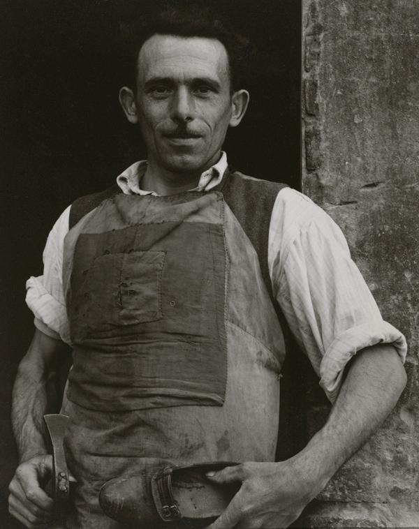 Paul Strand. 'Cobbler, Luzzara' 1953