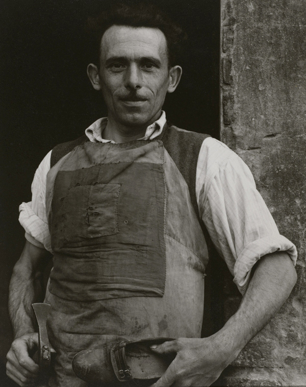 Paul Strand. 'Cobbler, Luzzara' 1953