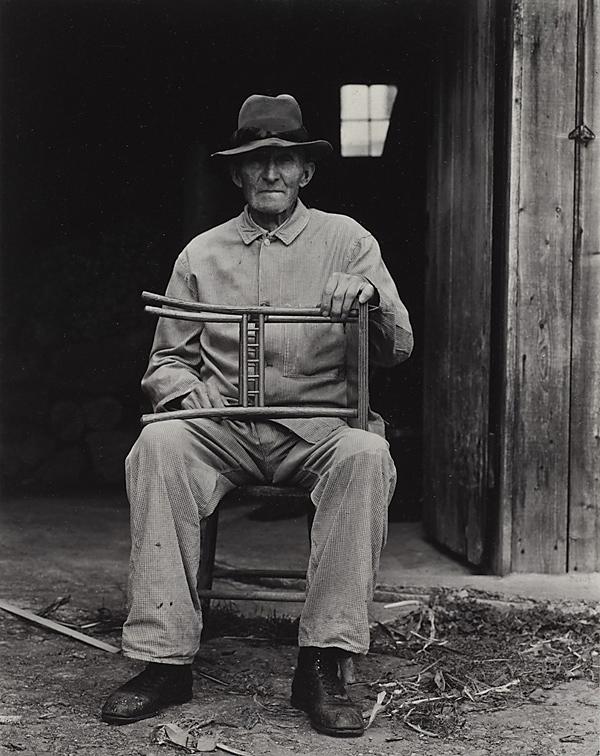 Paul Strand. 'Mr. Bolster, Weston, Vermont' 1943