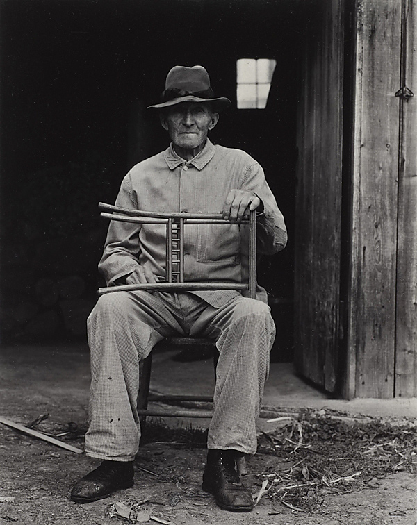 Paul Strand. 'Mr. Bolster, Weston, Vermont' 1943