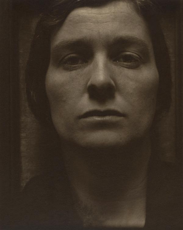 Paul Strand. 'Rebecca, New York' 1921