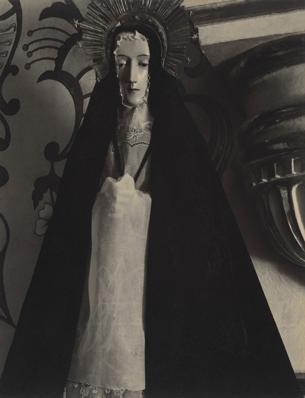 Paul Strand. 'Virgin, San Felipe, Oaxaca, Mexico' 1933