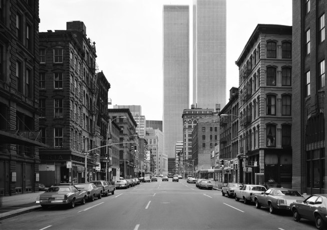 Thomas Struth. 'Crosby Street, New York, Soho' 1978